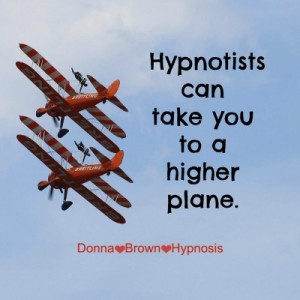 You can land where you want using hypnosis.