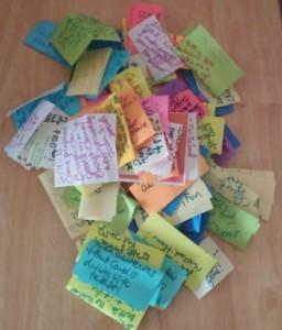 2015 Gratitude Notes