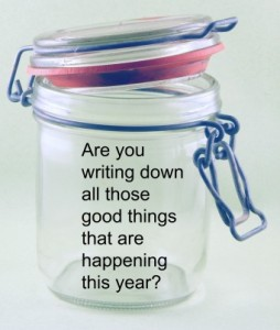 Jar with words